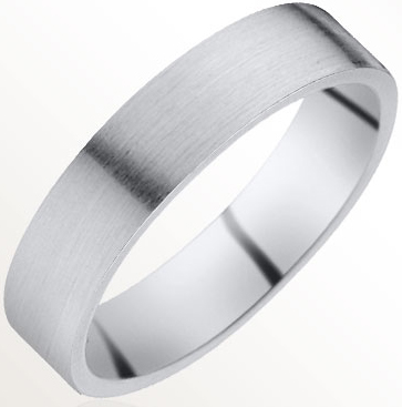 bague mariage homme platine #6